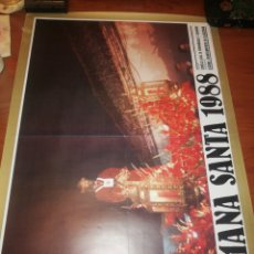 Carteles de Semana Santa: CARTEL DE LA SEMANA SANTA, ALGECIRAS.. 1.988..... Lote 221625848