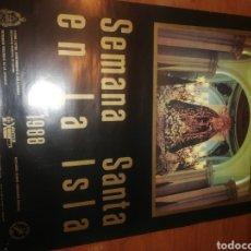 Carteles de Semana Santa: CARTEL DE LA SEMANA SANTA, LA ISLA... 1.988.... Lote 221626098