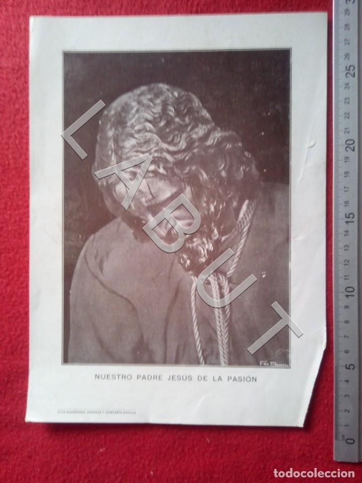 FOTOGRAFIA ANTIGUA BARRERA JESUS DE LA PASION SEMANA SANTA SEVILLA C13 (Coleccionismo - Carteles Gran Formato - Carteles Semana Santa)