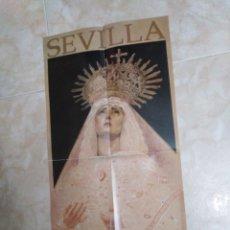 Carteles de Semana Santa: CARTEL SEMANA SANTA 2020 DE SEVILLA ( 59.30X29.50 ). Lote 222614592