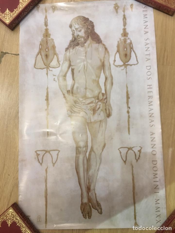 Carteles de Semana Santa: CARTEL SEMANA SANTA DOS HERMANAS ANNO DOMINI MMXX - 42X69CM - Foto 2 - 222641713