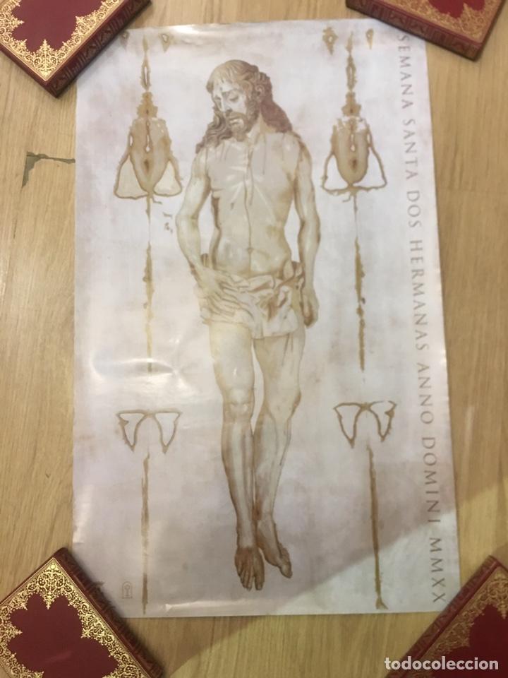 CARTEL SEMANA SANTA DOS HERMANAS ANNO DOMINI MMXX - 42X69CM (Coleccionismo - Carteles Gran Formato - Carteles Semana Santa)
