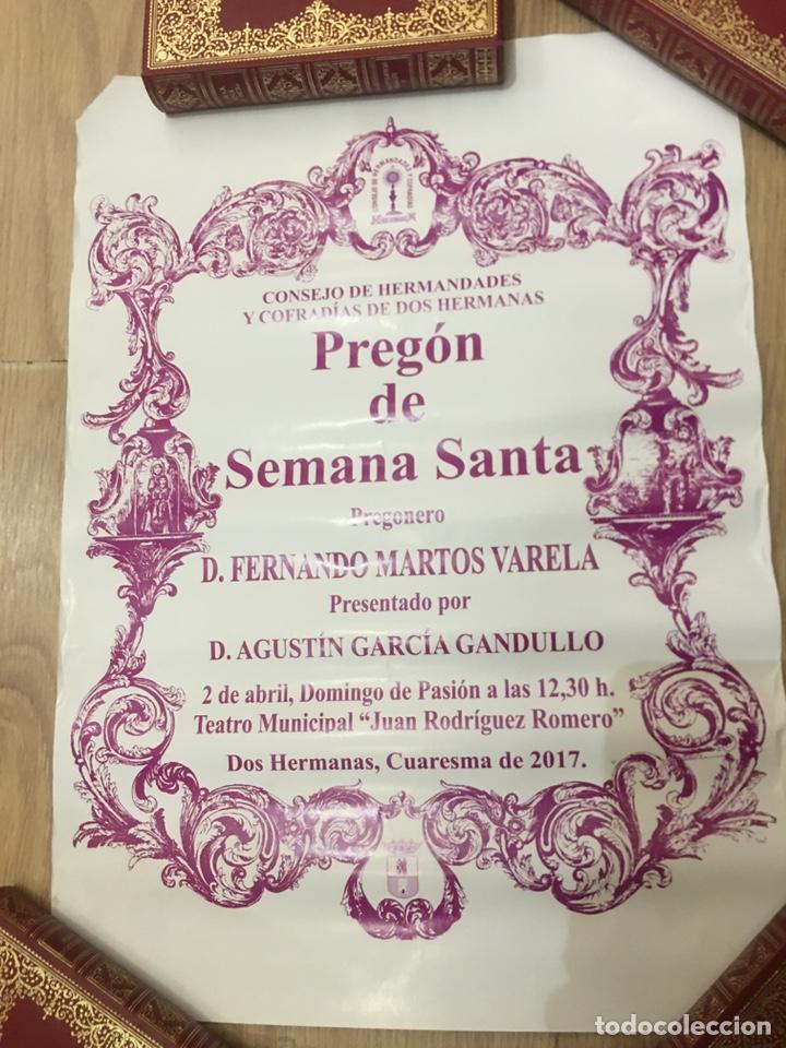 Carteles de Semana Santa: CARTEL - PREGON DE SEMANA SANTA - DOS HERMANAS - CUARESMA 2017 - 32X44CM - Foto 2 - 222642608