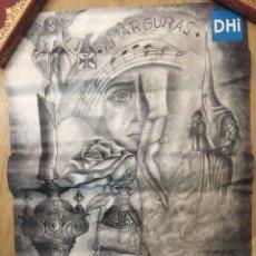 Carteles de Semana Santa: CARTEL DE SEMANA SANTA - AMARGURA - DOS HERMANAS - SEVILLA 2018 - 42X59CM. Lote 222644108