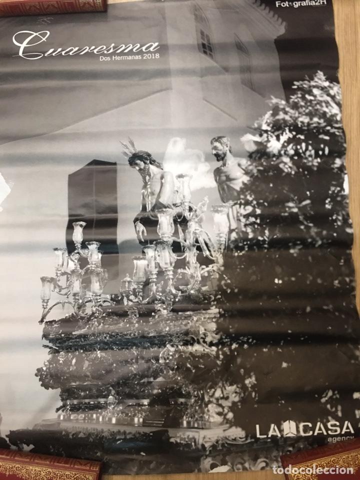 CARTEL DE SEMANA SANTA - CUARESMA DOS HERMANAS 2018 - SEVILLA - 50X70CM (Coleccionismo - Carteles Gran Formato - Carteles Semana Santa)