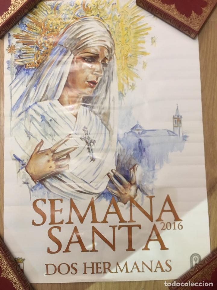 Carteles de Semana Santa: CARTEL SEMANA SANTA - DOS HERMANAS 2016 - SEVILLA - 48X68CM - Foto 2 - 222647746