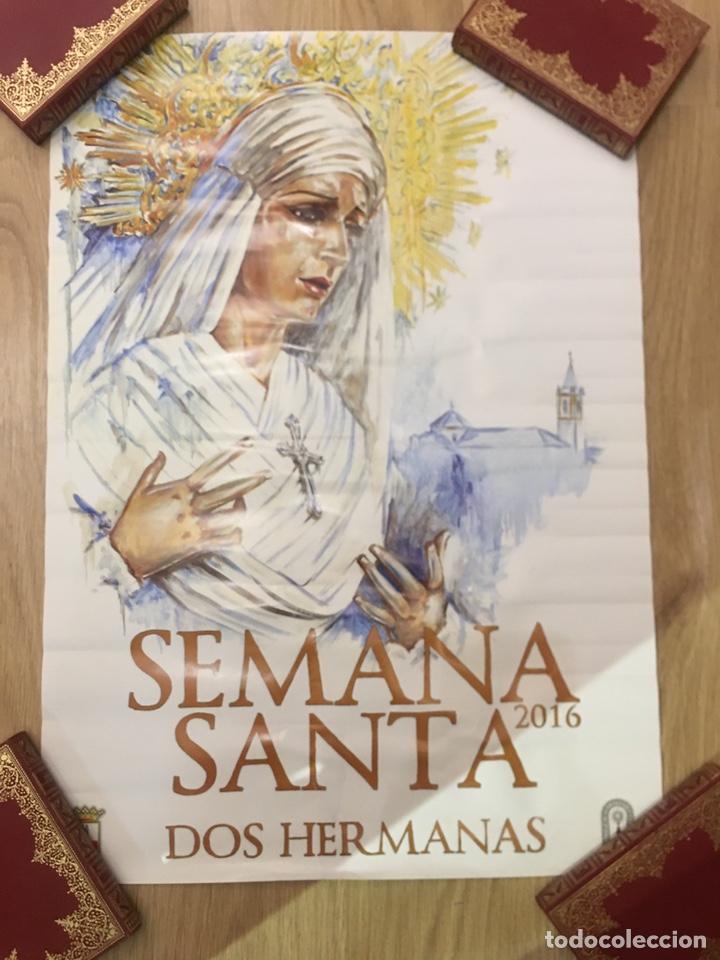 CARTEL SEMANA SANTA - DOS HERMANAS 2016 - SEVILLA - 48X68CM (Coleccionismo - Carteles Gran Formato - Carteles Semana Santa)