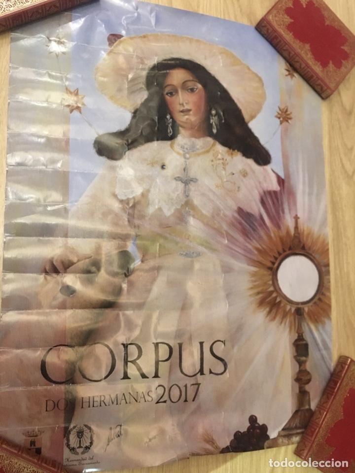 Carteles de Semana Santa: CARTEL - CORPUS - DOS HERMANAS 2017 - 50X67CM - Foto 2 - 222648290
