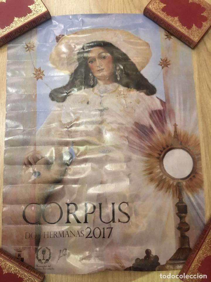 CARTEL - CORPUS - DOS HERMANAS 2017 - 50X67CM (Coleccionismo - Carteles Gran Formato - Carteles Semana Santa)