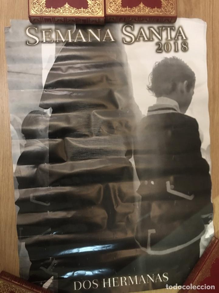 Carteles de Semana Santa: CARTEL - SEMANA SANTA - DOS HERMANAS 2018 - 48X67CM - Foto 2 - 222648506
