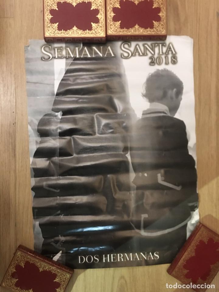 CARTEL - SEMANA SANTA - DOS HERMANAS 2018 - 48X67CM (Coleccionismo - Carteles Gran Formato - Carteles Semana Santa)