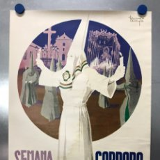 Carteles de Semana Santa: CORDOBA, ANTIGUO CARTEL SEMANA SANTA, AÑO 1971 - ILUSTRADOR: RICARDO ANAYA. Lote 224317030