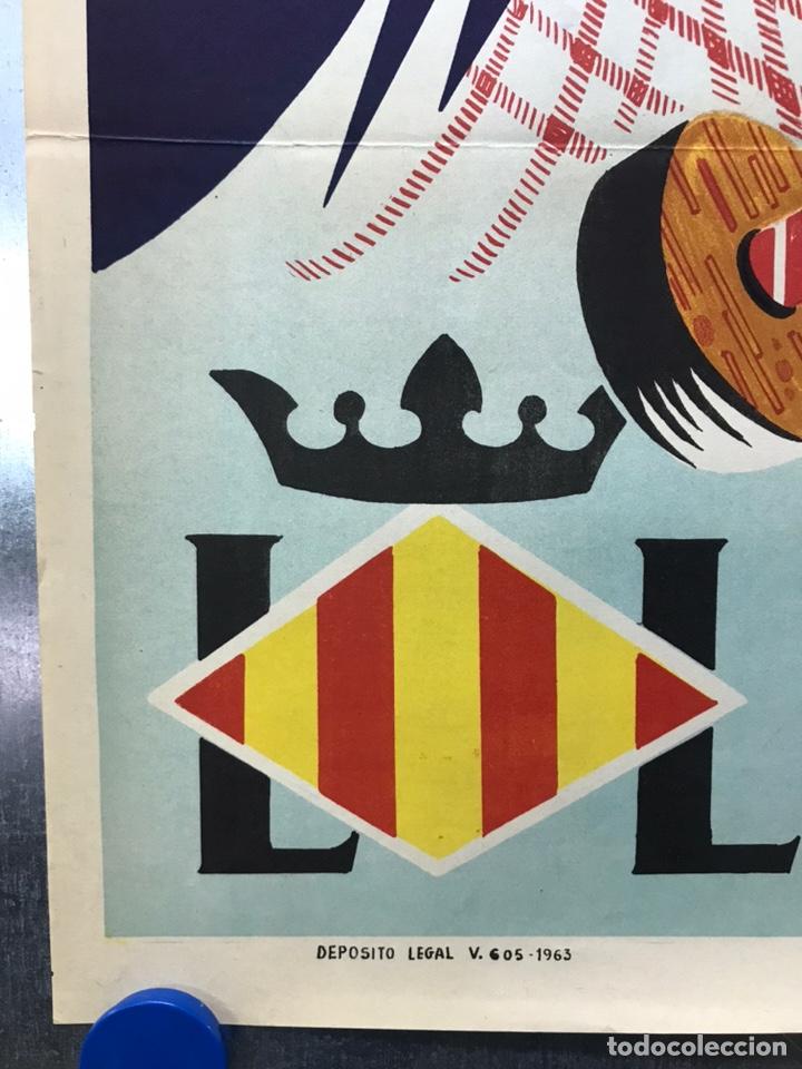 Carteles de Semana Santa: CARTEL VALENCIA, SEMANA SANTA MARINERA - AÑO 1963 - LITOGRAFIA, A. CABRERA - Foto 2 - 224427330