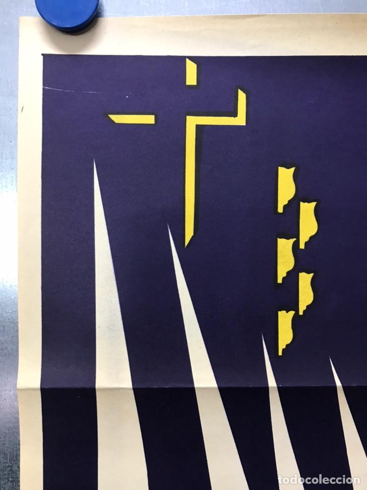 Carteles de Semana Santa: CARTEL VALENCIA, SEMANA SANTA MARINERA - AÑO 1963 - LITOGRAFIA, A. CABRERA - Foto 5 - 224427330