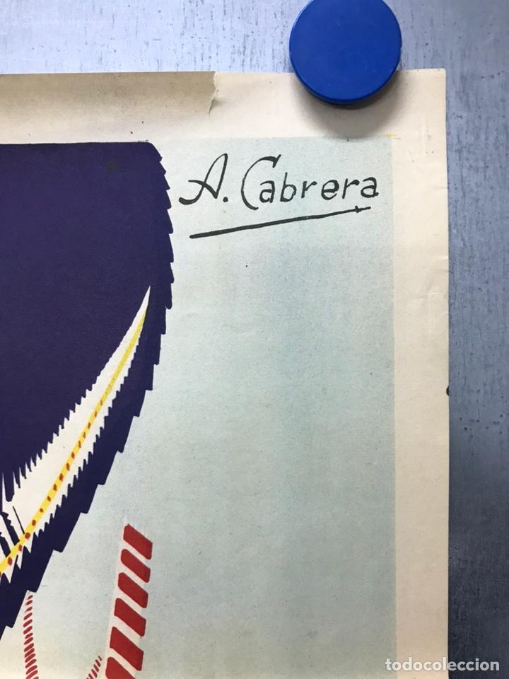 Carteles de Semana Santa: CARTEL VALENCIA, SEMANA SANTA MARINERA - AÑO 1963 - LITOGRAFIA, A. CABRERA - Foto 6 - 224427330