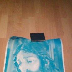 Carteles de Semana Santa: CARTEL CRISTO EN TONO AZUL. Lote 230327795