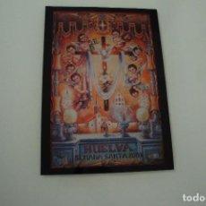 Carteles de Semana Santa: CARTEL DE SEMANA SANTA HUELVA PERIÓDICO ODIEL AÑO 2007. Lote 234396165