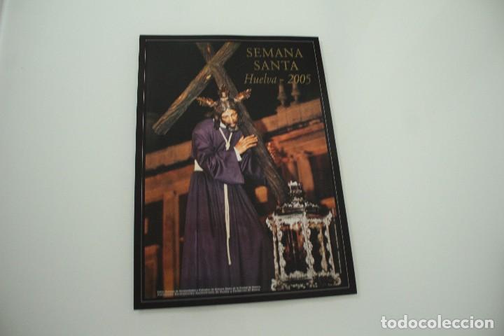 CARTEL DE SEMANA SANTA HUELVA PERIÓDICO ODIEL AÑO 2005 (Coleccionismo - Carteles Gran Formato - Carteles Semana Santa)