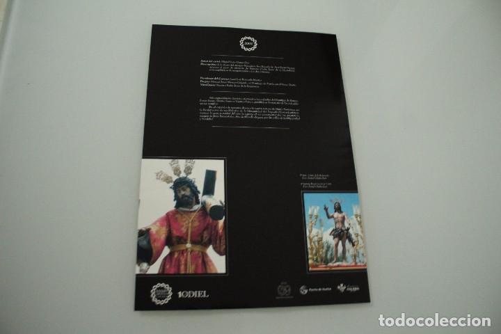 Carteles de Semana Santa: CARTEL DE SEMANA SANTA HUELVA PERIÓDICO ODIEL AÑO 2003 - Foto 2 - 234397175