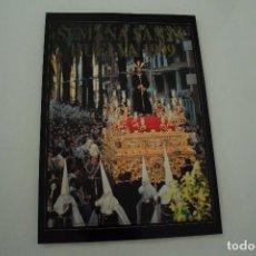 Carteles de Semana Santa: CARTEL DE SEMANA SANTA HUELVA PERIÓDICO ODIEL AÑO 1999. Lote 234397795