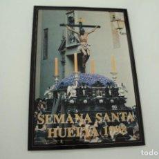 Carteles de Semana Santa: CARTEL DE SEMANA SANTA HUELVA PERIÓDICO ODIEL AÑO 1998. Lote 234397910
