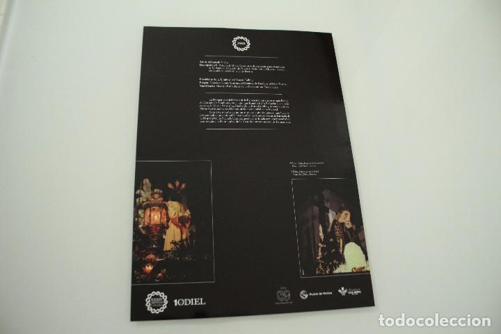 Carteles de Semana Santa: CARTEL DE SEMANA SANTA HUELVA PERIÓDICO ODIEL AÑO 1986 - Foto 2 - 234398835