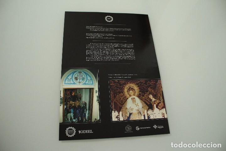 Carteles de Semana Santa: CARTEL DE SEMANA SANTA HUELVA PERIÓDICO ODIEL AÑO 1981 - Foto 2 - 234399340