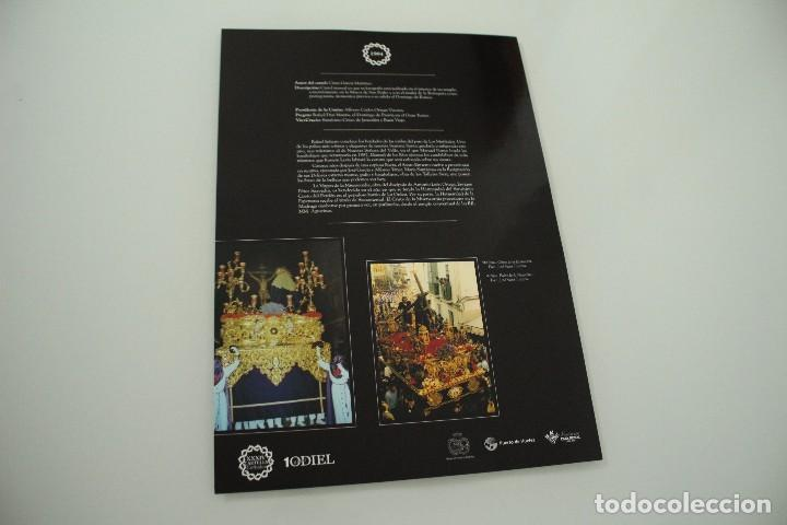 Carteles de Semana Santa: CARTEL DE SEMANA SANTA HUELVA PERIÓDICO ODIEL AÑO 1980 - Foto 2 - 234399410