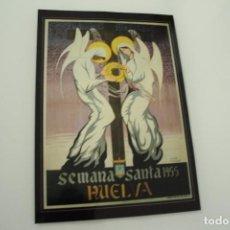Carteles de Semana Santa: CARTEL DE SEMANA SANTA HUELVA PERIÓDICO ODIEL AÑO 1955. Lote 234399620