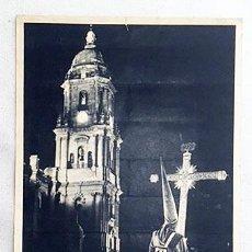 Carteles de Semana Santa: CARTEL. MÁLAGA. SEMANA SANTA 1964. CARTEL FOTOGRÁFICO. HUECOGRABADO. 32X21. Lote 234536255