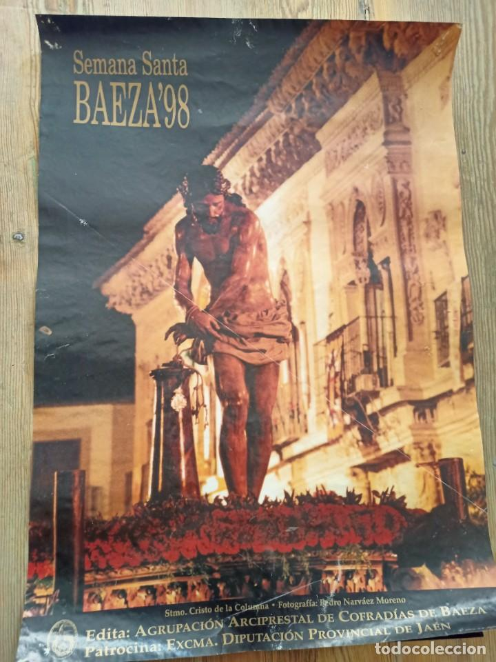 CARTEL SEMANA SANTA, BAEZA 98 (Coleccionismo - Carteles Gran Formato - Carteles Semana Santa)