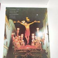 Carteles de Semana Santa: CARTEL SEMANA SANTA, SANTISIMO CRISTO DE LA SANGRE ECIJA. Lote 236804635