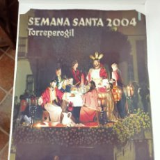 Affiches de Semaine Sainte: CARTEL SEMANA SANTA, TORREPEROGIL 2004. Lote 236805695