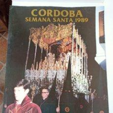 Carteles de Semana Santa: CARTEL SEMANA SANTA, CÓRDOBA, 89. Lote 236811435