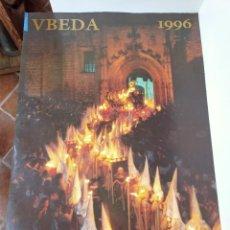 Carteles de Semana Santa: CARTEL SEMANA SANTA, ÚBEDA, 96. Lote 236812055