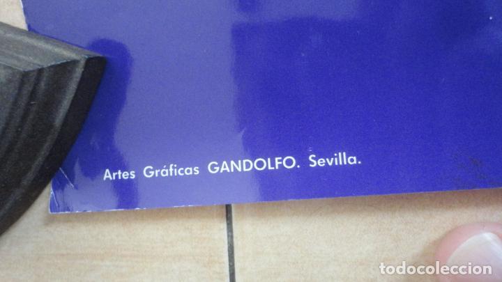Carteles de Semana Santa: ANTIGUO CARTEL.CRISTO TRES CAIDAS.CAJA SAN FERNANDO.SEMANA SANTA SEVILLA 1994. FOTO ARENAS. 99 X 68 - Foto 4 - 245018555