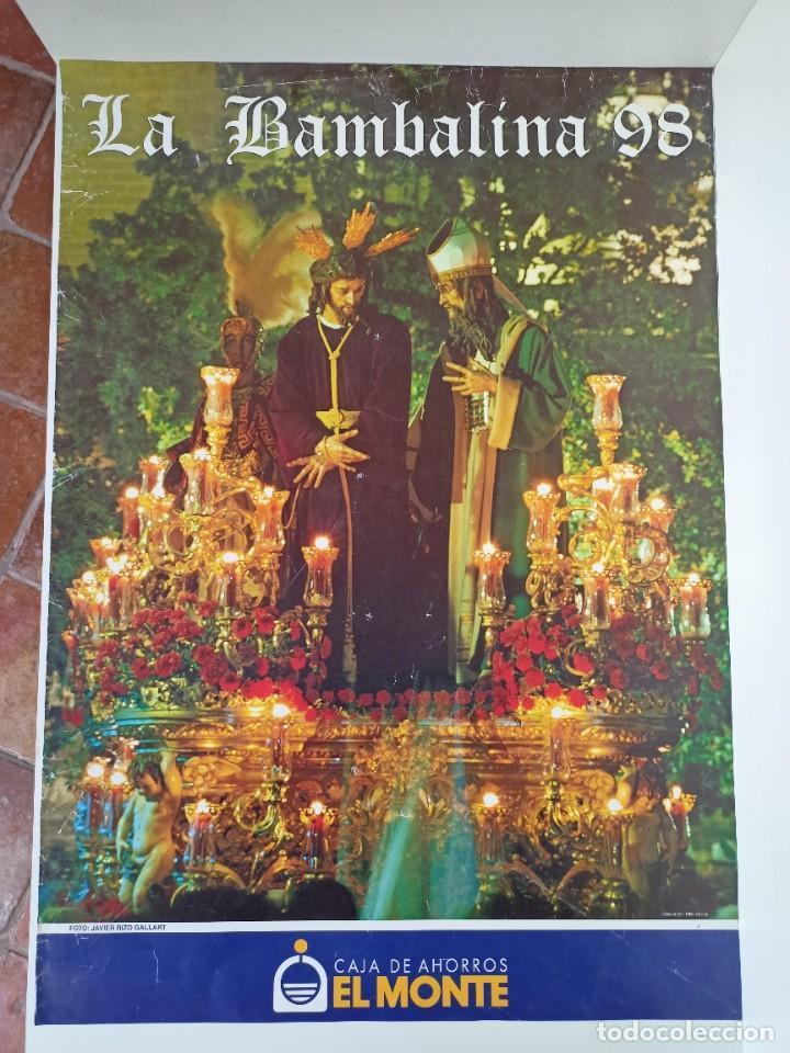 CARTEL SEMANA SANTA, LA BAMBALINA, 1998 (Coleccionismo - Carteles Gran Formato - Carteles Semana Santa)