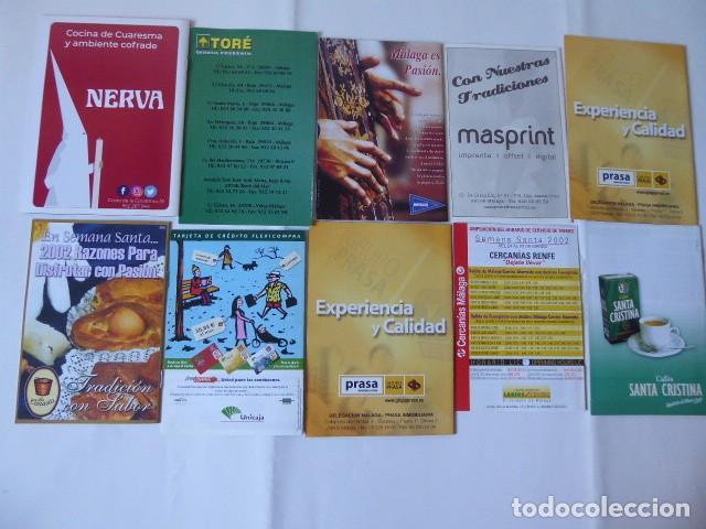 Carteles de Semana Santa: conjunto de itinerarios semana santa de malaga - Foto 2 - 247489785