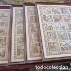 Carteles de Semana Santa: CARTEL LA PASION DE SEMANA SANTA HISTORIA SAGRADA CALLEJA .. Lote 248098160