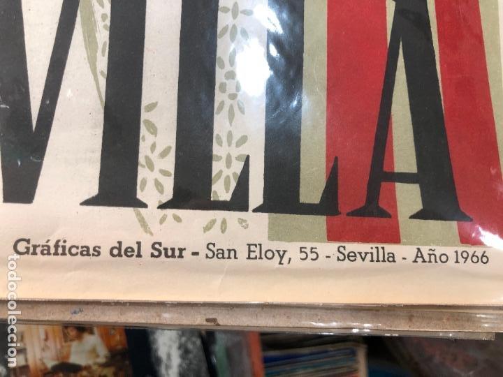 Carteles de Semana Santa: CARTEL ORIGINAL FERIA DE SEVILLA AÑO 1967 - MEDIDA 68X46 CM - RELIGIOSO - Foto 2 - 263167695