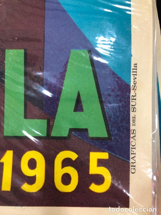 Carteles de Semana Santa: CARTEL ORIGINAL SEMANA SANTA DE SEVILLA AÑO 1965 - MEDIDA 68X46 CM - RELIGIOSO - Foto 2 - 263168035