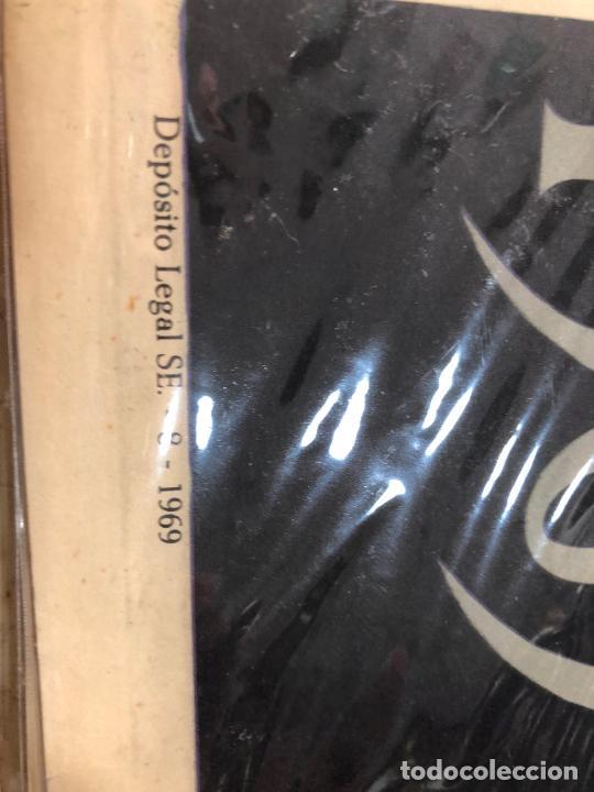 Carteles de Semana Santa: CARTEL ORIGINAL SEMANA SANTA DE SEVILLA AÑO 1969 - MEDIDA 68X46 CM - RELIGIOSO - Foto 2 - 263168875