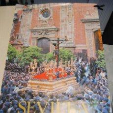 Carteles de Semana Santa: ESPECTACULAR CARTEL DE LA SEMANA SANTA DE SEVILLA STMO. CRISTO DEL AMOR 1983. Lote 266592323