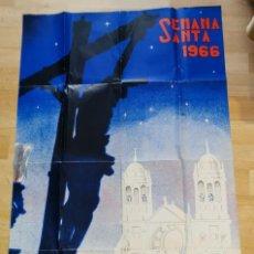 Carteles de Semana Santa: CARTEL - CADIZ SEMANA SANTA, AÑO 1966 - ILUSTRADOR RICARDO ANAYA. Lote 283501663