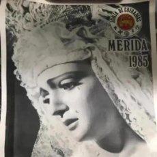 Carteles de Semana Santa: ANTIGUO CARTEL SEMANA SANTA MERIDA 1985 BADAJOZ. Lote 287728223