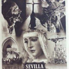Carteles de Semana Santa: SEVILLA. SEMANA SANTA. AÑOS 40. Lote 293347213