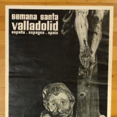 Carteles de Semana Santa: SEMANA SANTA VALLADOLID. MARZO-ABRIL 1961.. Lote 297062288