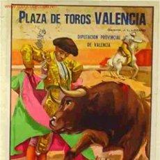 Carteles Toros: CARTEL TOROS VALENCIA 1986. Lote 25048479
