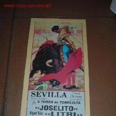 Carteles Toros: CARTEL DE TORO - FERIA DE ABRIL 1993 - SEVILLA. Lote 6219755