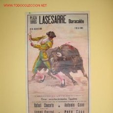 Carteles Toros: CARTEL DE TOROS BARACALDO 1984 (02). Lote 26705145